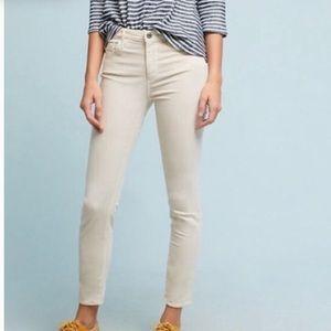 Adriano Goldschmied AG slim straight jeans tan